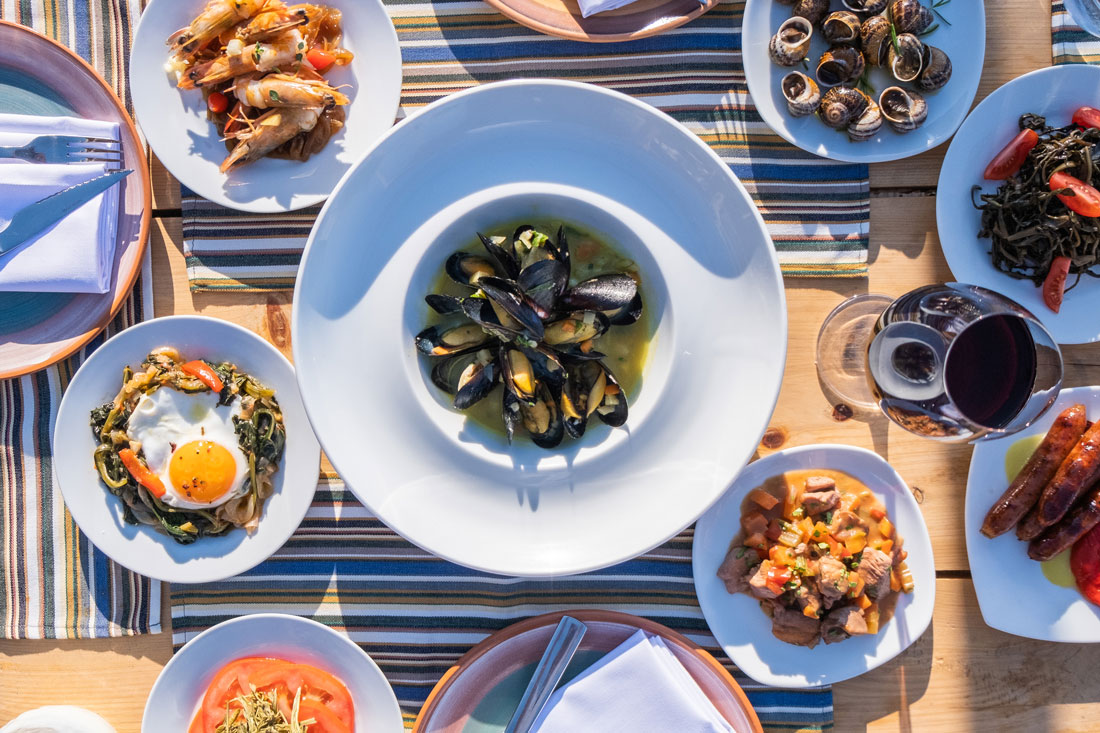 Seafood - Yialos Wine Restaurant