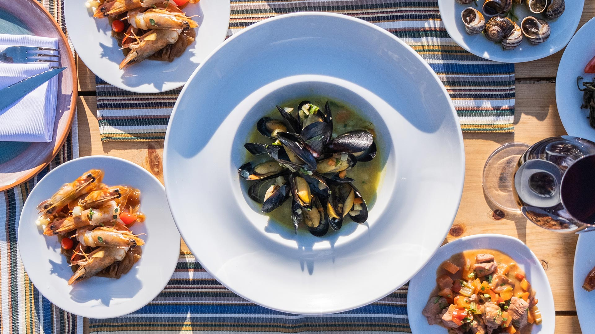 Seafood - Yialos Wine Restaurant
